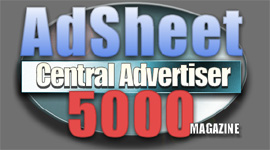 AdSheet Central Advertiser 5000